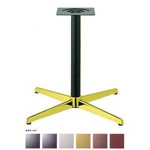 e-kanamono テーブル脚 コルサS2600 ベース430x430 パイプ60.5φ 受座240x240 ゴールド/塗装パイプ AJ付 高さ700mmまで シルバーメタリック B012CF4L2I シルバーメタリック シルバーメタリック
