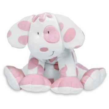 Floppy Pastel Pink Puppy 12
