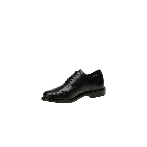 Executive Imperials Mens Wingtip Oxford Zwart