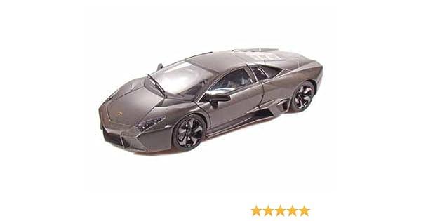 Amazon.com: Lamborghini Reventon Dark Charcoal Grey 1:18 Scale Die Cast  Model Car: Toys U0026 Games