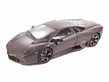 Lamborghini Reventon Dark Charcoal Grey 1:18 Scale Die Cast Model Car