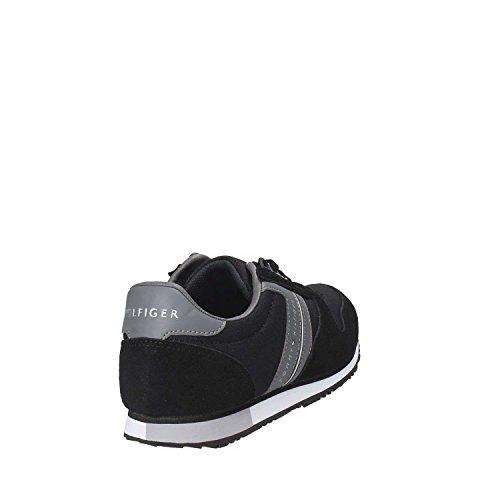 La Venta De La Fábrica Scarpa sneaker uomo Tommy Hilfiger Maxwell 18C Black-Steel Grey De Italia En Línea S1MH27ijq