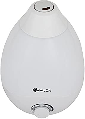 Avalon Premium Cool Mist Humidifier with Aromatherapy Essential Oil Drop Diffuser, with 7 Adjustable LED Lights, Ultrasonic Pure Silent Technology,