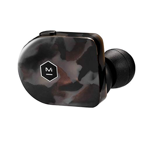 Master & Dynamic MW07 True Wireless Earphones - Bluetooth Enabled Noise Isolating Earbuds - Lightweight Quality Earbuds for Music, Grey Terrazzo