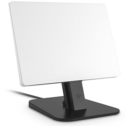 Twelve South HiRise Deluxe Desktop Stand für iPhone, Smartphones (inkl. Lighting-Kabel, Micro-USB Kabel für Laden und Synchronisierung) schwarz