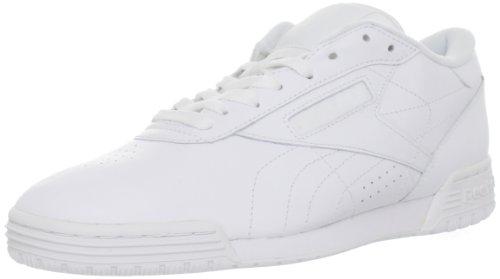 Reebok Men's Exofit Lo Clean Logo Fashion Sneaker,White/W...