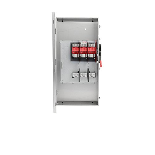 Siemens HF365SA 3 Pole Fusible Type 4X Stainless Steel Heavy Duty Safety Switch, 600V/400 Amp by Siemens (Image #1)