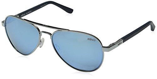 revo-raconteur-re-1011-03-bl-polarized-aviator-sunglasses-chrome-58-mm