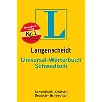 Langenscheidt Universal-Wörterbuch Schwedisch;