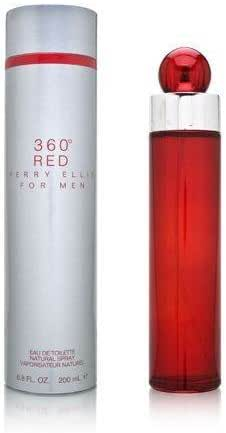 360° Red by Perry Ellis for Men, 6.7 Ounce