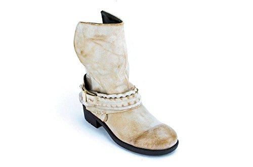 Mojo Moxy Galning Kvinna Tan Läder Boots Us7.5