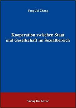 Book Kooperation zwischen Staat und Gesellschaft im Sozialbereich