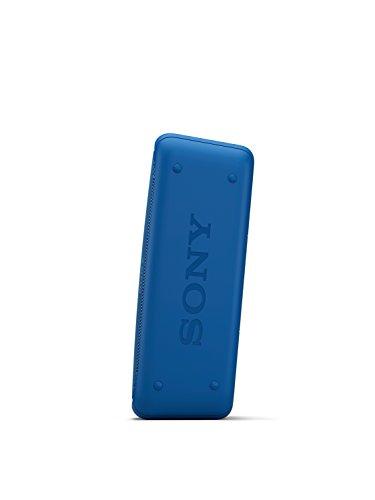 31hnv2WFRjL - Sony SRSXB30/BLUE Portable Wireless Speaker with Bluetooth, Blue