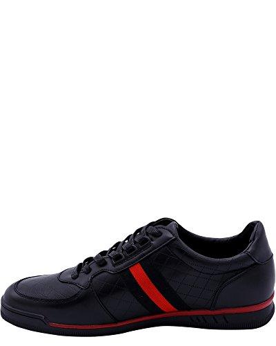 Beverly Hills Polo Club Mens Murano Sneaker Svart / Röd