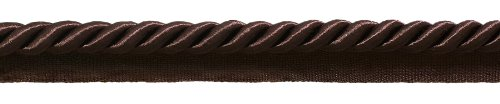 Trim 3/8 Cord Twisted Lip (DecoPro 10 Yard Value Pack of Large 3/8