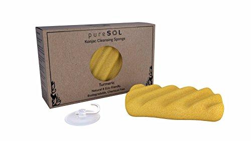 Konjac Sponge Eco friendly Exfoliating Cleansing