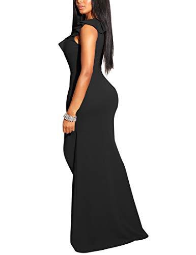 Sleeveless Side Split Evening Gown