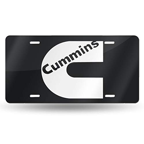 - OUI-A Metal Funny Cummins License Plate Car Accessories 6