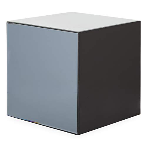 Now House by Jonathan Adler Chroma Cube Accent Table, Shades of Grey