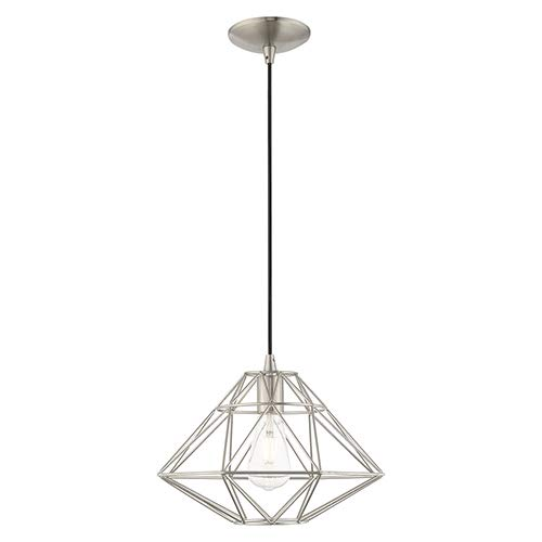 Amazon.com: Livex Lighting 41323-91 - Pantalla geométrica ...