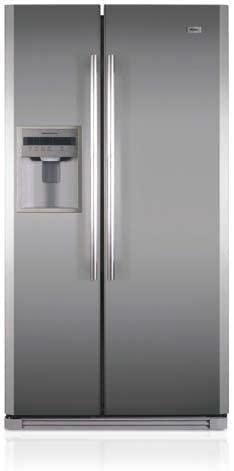 Haier HRF-661RSSAA Independiente 500L A+ Acero inoxidable nevera ...