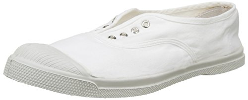 Bensimon Tennis Elly Femme, Zapatillas de Deporte de lona Mujer Blanco (Blanc)