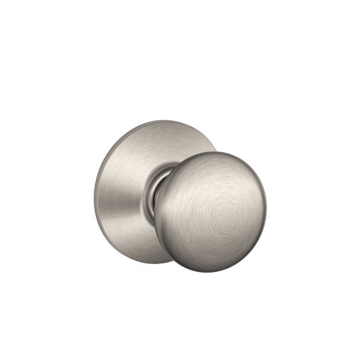 Schlage F10PLY619 Plymouth Passage Knob, Satin Nickel