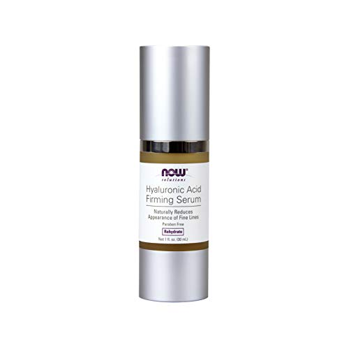 NOW Solutions, Hyaluronic Acid Firming Serum, Naturally Reduces Appearance of Fine Lines, 1-Ounce (Firming Hyaluronic Acid Serum)