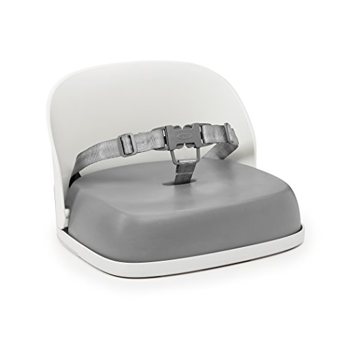 OXO Tot Perch Booster Seat with Straps, Gray (Tote Strap)