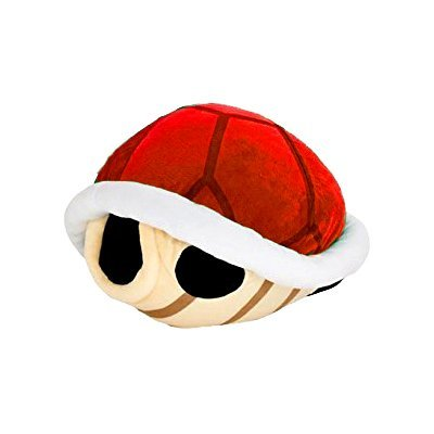 Super Mario Bros Koopa Shell Plush Big Size 16.5 inch Red Turtle shell by Taito: Toys & Games