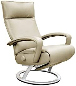 Gaga Recliner Chair Ice Leather