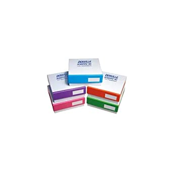 denville científica 1005314 caja congelador de cartón de colores ...