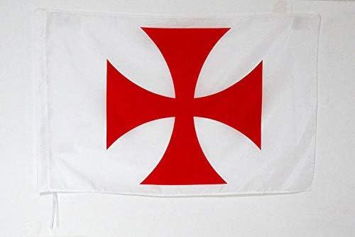AZ FLAG Bandera del Orden del Temple 90x60cm para Palo - Bandera Ejercito DE Francia 60 x 90 cm: Amazon.es: Jardín