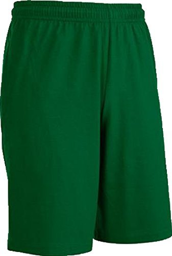 Fruit of the Loom Men's Jersey Short (X-Large, Dark (Green Pocket Shorts)