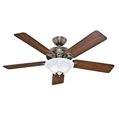 Hunter Fan Company The Brookline 52-Inch Ceiling Fan with Five Blades and a Light Kit