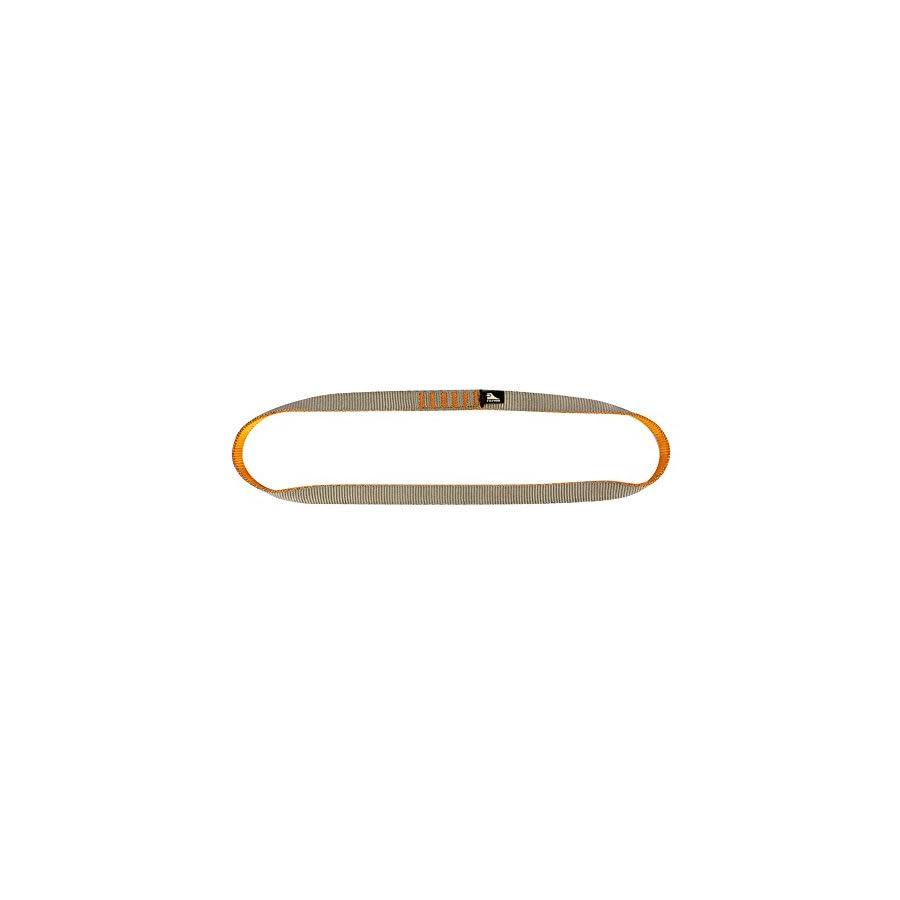 Fusion Climb Quickdraw Runner 5000 lbs Rated Stitched Loop Nylon Webbing 80cm x 1.7cm Tan/Orange