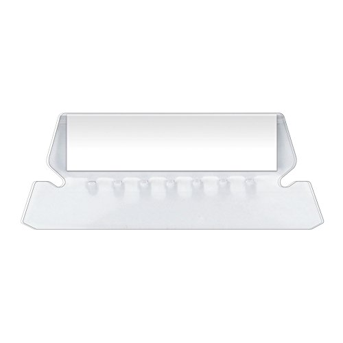 "Pendaflex Insertable Plastic Tabs Hanging Folder Tabs, 2"", Clear, 25 Tabs and Inserts per Pack (42)"