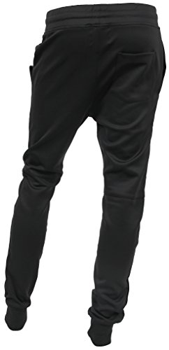 74efb2a6773 Hat and Beyond WIV Mens Jogger Pants Biker Slim Fit Casual Fleece Active  Elastic 1VWA5001-