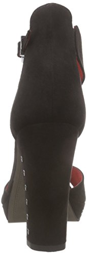 Tamaris 28379 - Sandalias con plataforma Mujer Negro - negro