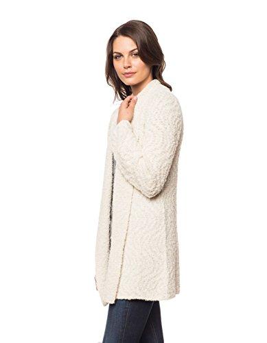 Invisible World Womens Alpaca/Pima Cotton Blend Womens Sweater Coat Cardigan Swirl - Medium by Invisible World (Image #3)