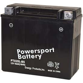 Replacement For POLARIS FS/FST 600CC SNOWMOBILE BATTERY FOR YEAR 2007 MODEL Battery by Technical Precision