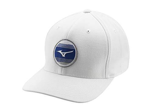 Mizuno 919 Snapback Golf Hat, White, One Size