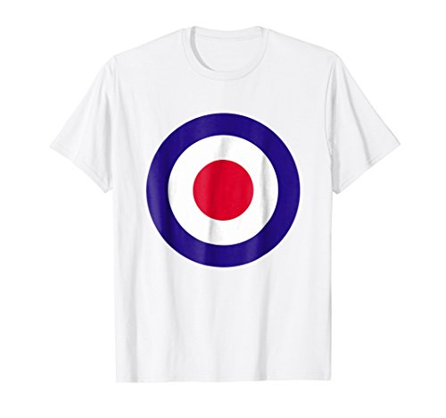 Mod Target T-Shirt Retro Mods Arrow Targets Fashion