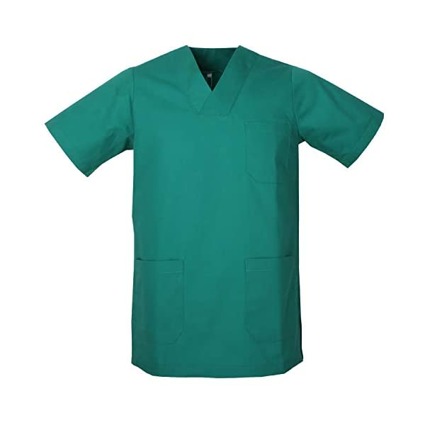MISEMIYA - Casaca Unisex MÉDICO Enfermera Uniforme Limpieza Laboral ESTÉTICA Dentista Veterinaria Sanitario HOSTELERÍA - Ref.817 1