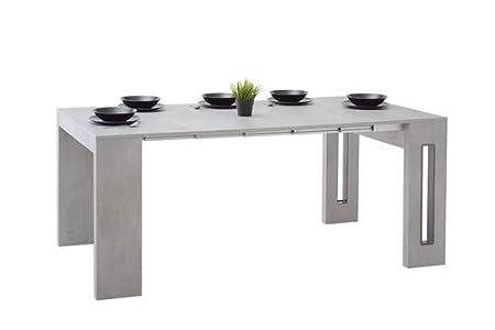 Mesa extensible Roma. Mesa de comedor/escritorio/consola de diseño ...