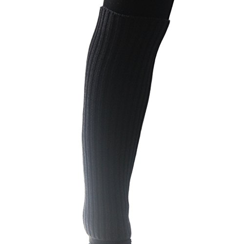 eYourlife2012 Womens Knit Crochet Candy Color Leg Boot Warmer Socks Leggings Dark Gray X7dNq