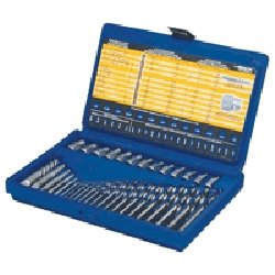(Hanson Irwin 11135 35 Piece Master Screw Extractor Set With Cobalt Bits)