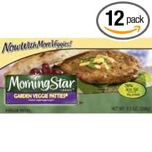 Awesome Kelloggs Morningstar Garden Veggie Patties Veggie Burger, 9.5 Ounce    12  Per Case.