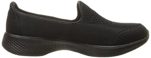 Skechers Damen Go Walk Scarpa Da Tennis 4-propel Slip On Black