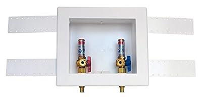 Oatey 38542 2-Inch Pex Standard Pack 1/4 Turn Brass Hammer Ball Valves
